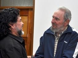 Maradona e Fidel