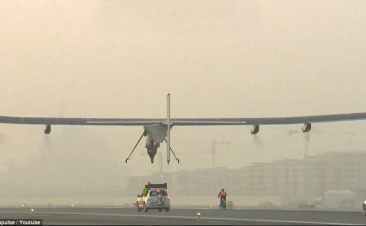 Primeiro avião solar inicia sua viagem ao redor do mundo