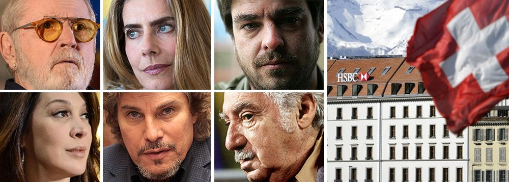 Cineastas, músicos e celebridades brasileiras aparecem em lista do HSBC