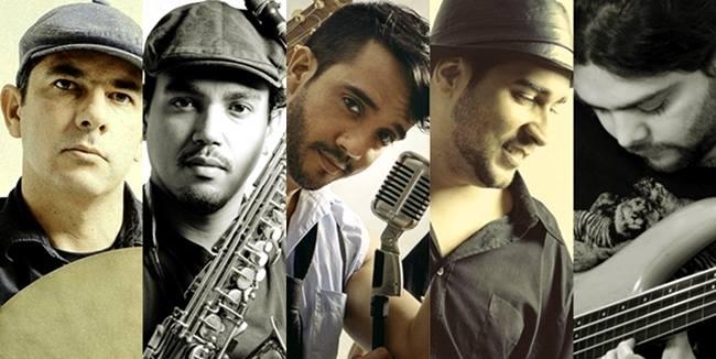 """Dudu Galvão & D'Jazz Band no show """"E Até Jazz"""""""