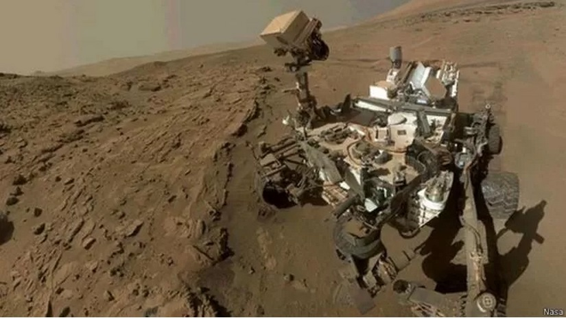 Sonda da Nasa encontra evidências de água líquida em Marte