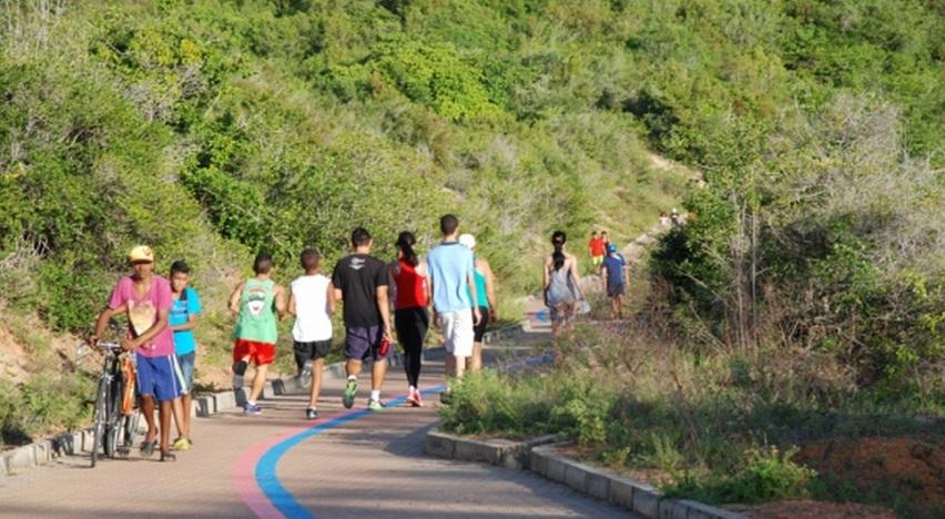 Parque da Cidade Dom Nivaldo Monte recebeu mais de 46 mil visitantes nos três primeiros meses de 2015