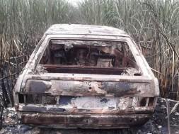 carro queimado