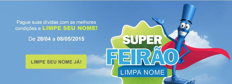 Serasa realiza novo 'Feirão Limpa Nome' a partir desta terça-feira (28)