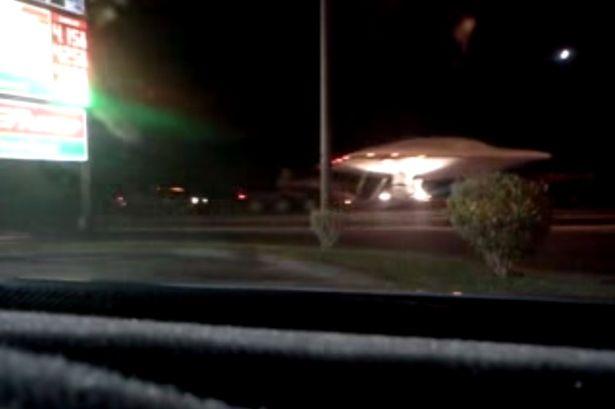 Suposta nave extraterrestre é vista em Área 51 nos EUA, confira!