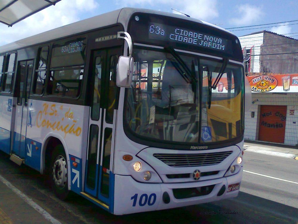 Tarifa de ônibus em Natal sofre reajuste e sobe para R$ 2,90