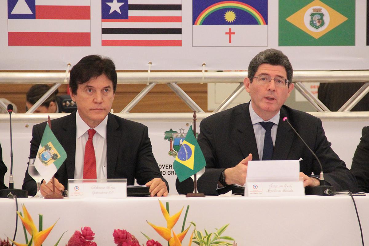 Ministro da Fazenda defende ajuste fiscal e infraestrutura para o Nordeste crescer mais