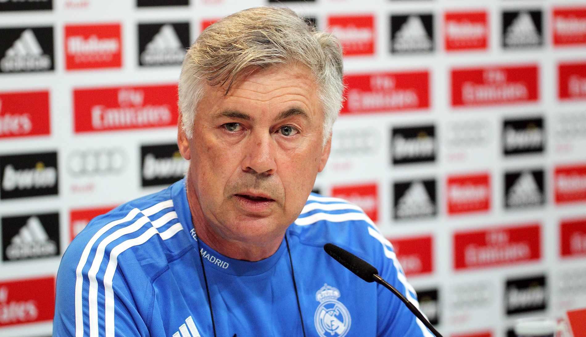 Carlo Ancelotti não é mais o técnico do Real Madrid