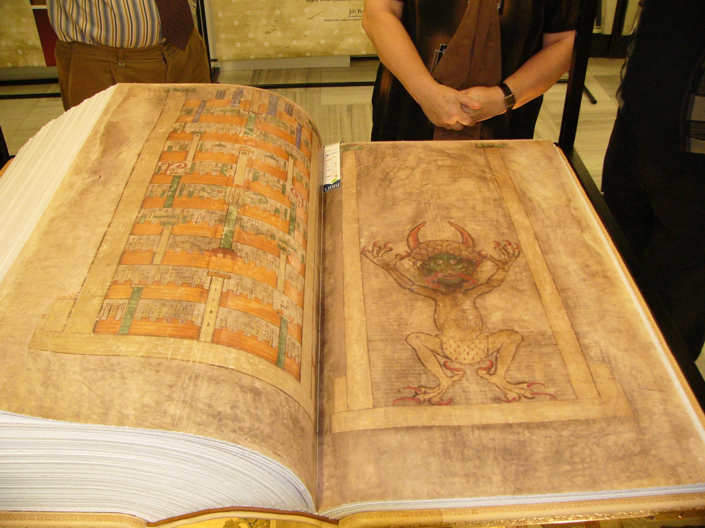 Codex Gigas: O mistério da Bíblia escrita por Lúcifer