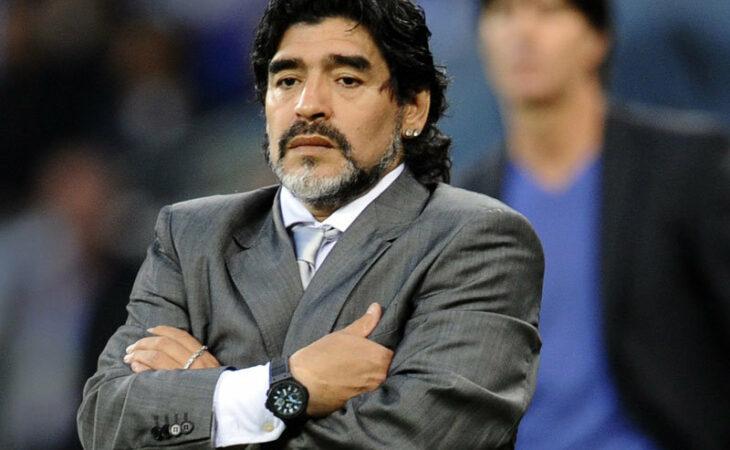 Maradona se candidata à Vice-Presidência da Fifa