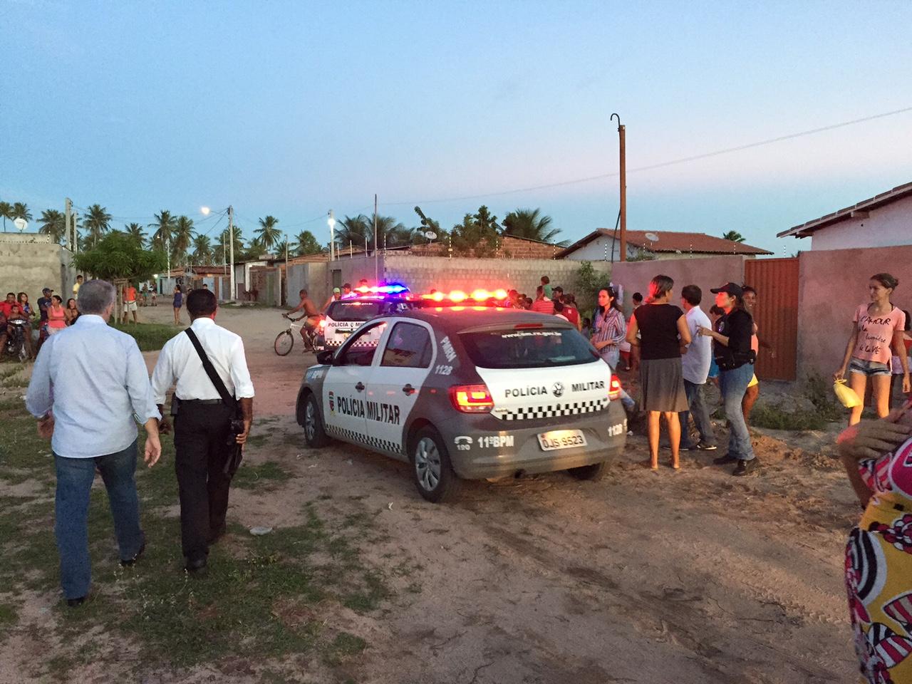 Invasores são retirados de casas em São Gonçalo do Amarante