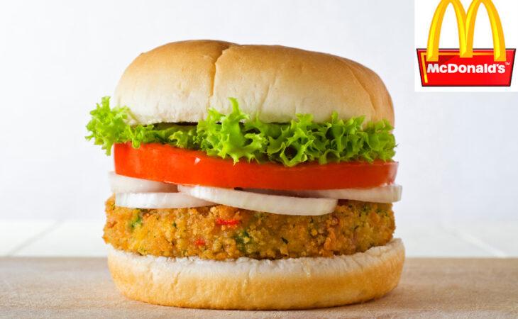 McVeggie: McDonald's lança sanduíche vegetariano na Itália