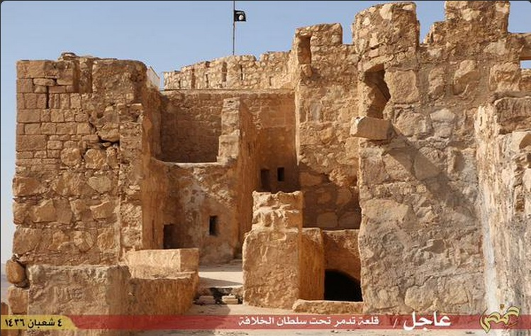 Estado Islâmico fixa bandeira em Palmira, na Síria