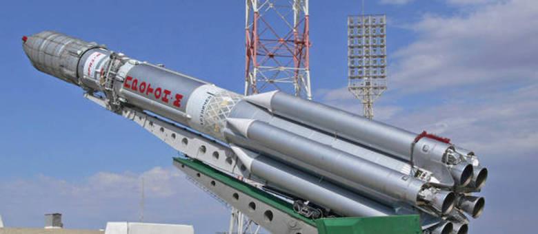 Mais um foguete russo cai após ser lançado