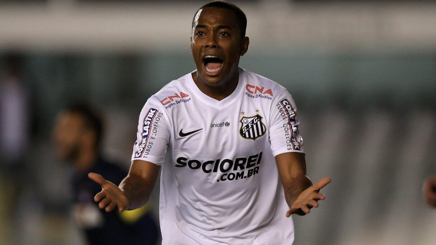 Robinho nega acerto com o Flamengo