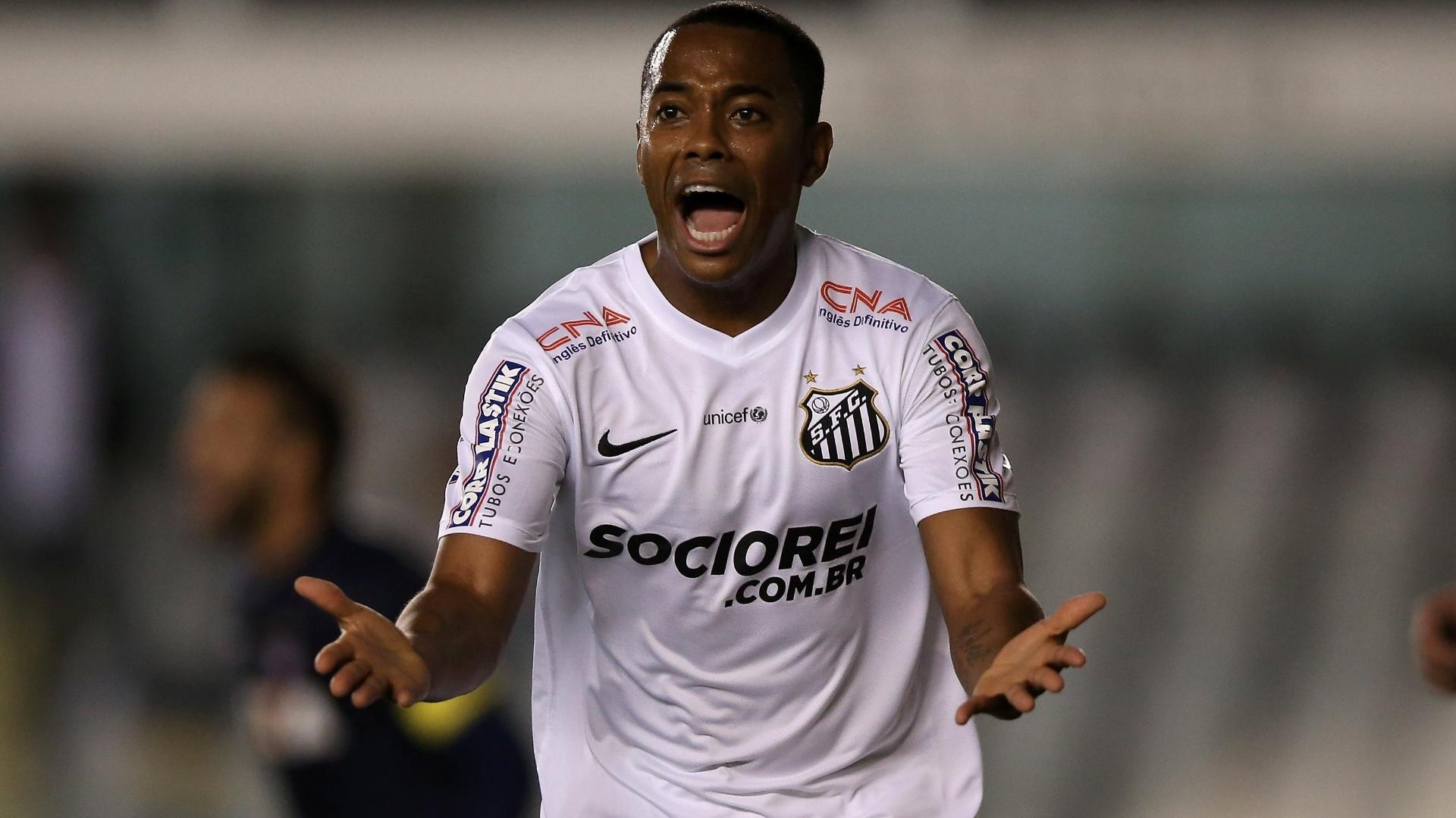 Robinho é o novo reforço do Flamengo e chega na próxima quinta-feira ao Rio