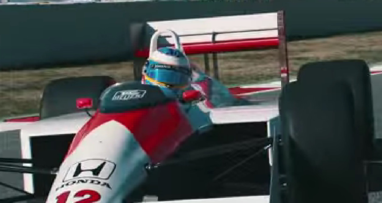 Alonso realiza sonho e pilota McLaren de Senna