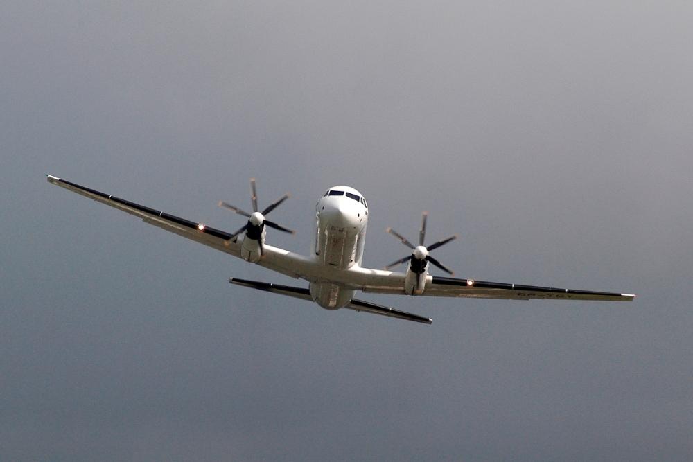 Urubu se choca com aeronave e vídeo mostra estragos após vidro estourar