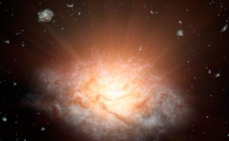 NASA descobre a galáxia mais luminosa do Universo