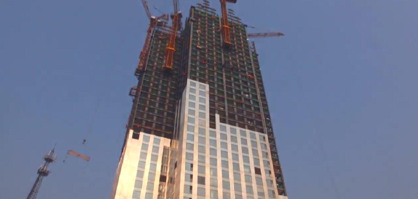 Empresa chinesa constrói prédio de 57 andares em 19 dias