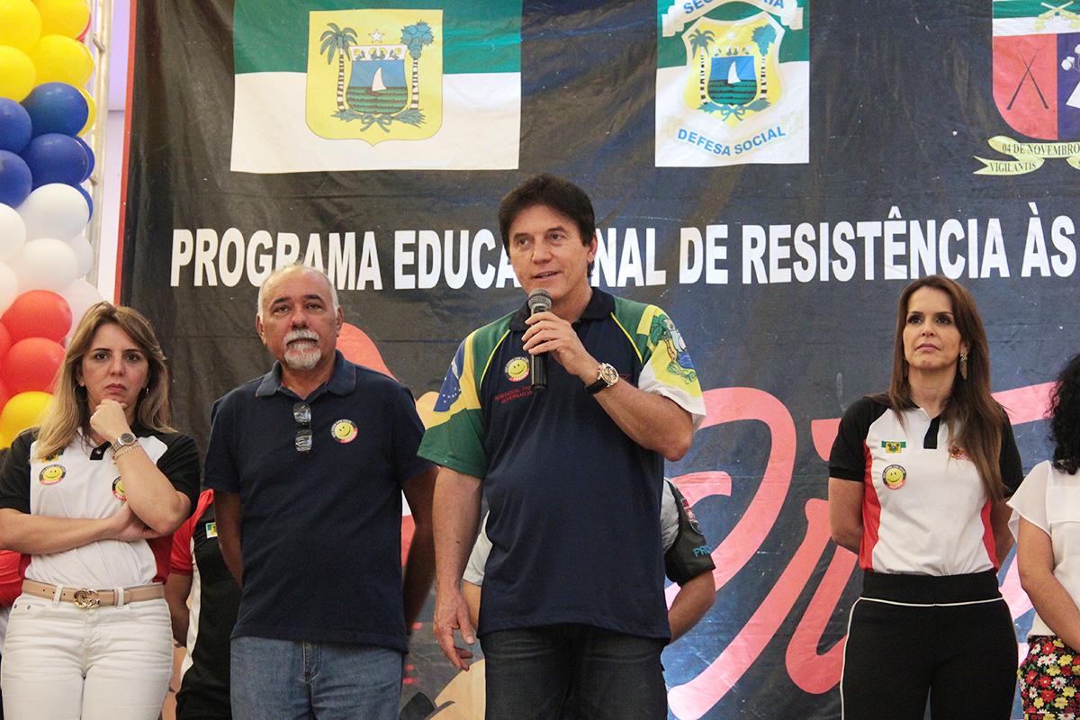 Governador Robinson Faria anuncia ampliação do Proerd no RN