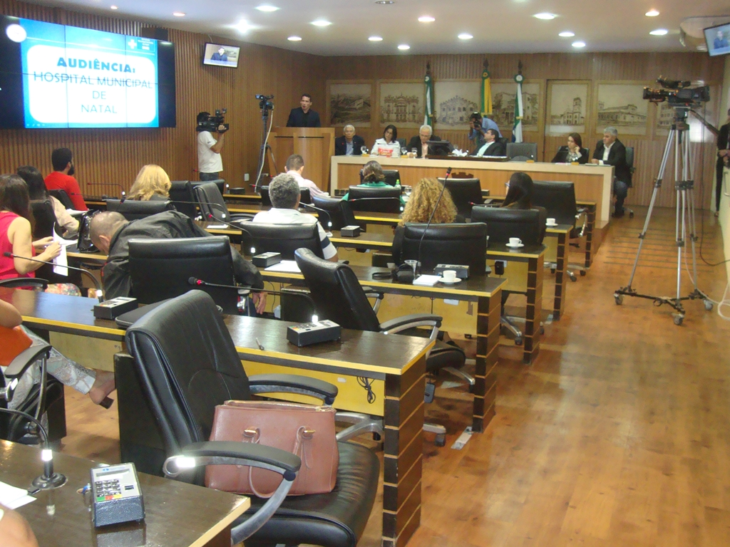 SMS apresenta projeto de Hospital Municipal de Natal na Câmara dos Vereadores