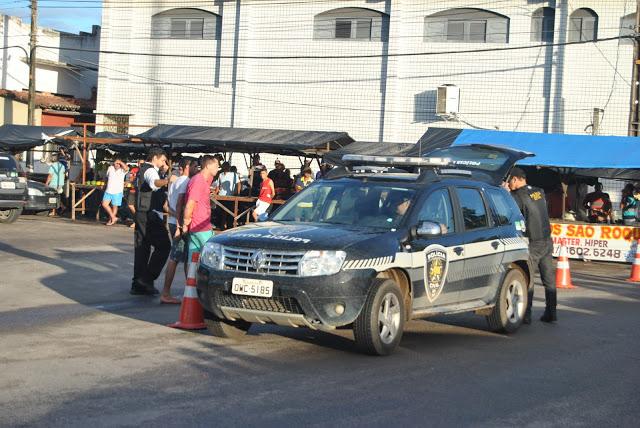 Operação conjunta da polícia civil e militar, prende 19 pessoas em São José de Mipibu