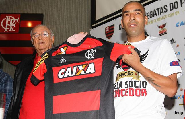 'Fiz a escolha certa', diz Sheik de volta ao Flamengo