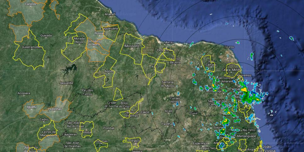 EMPARN registra boas chuvas em vários municípios