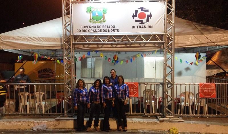 Detran realiza ações educativas no Mossoró Cidade Junina