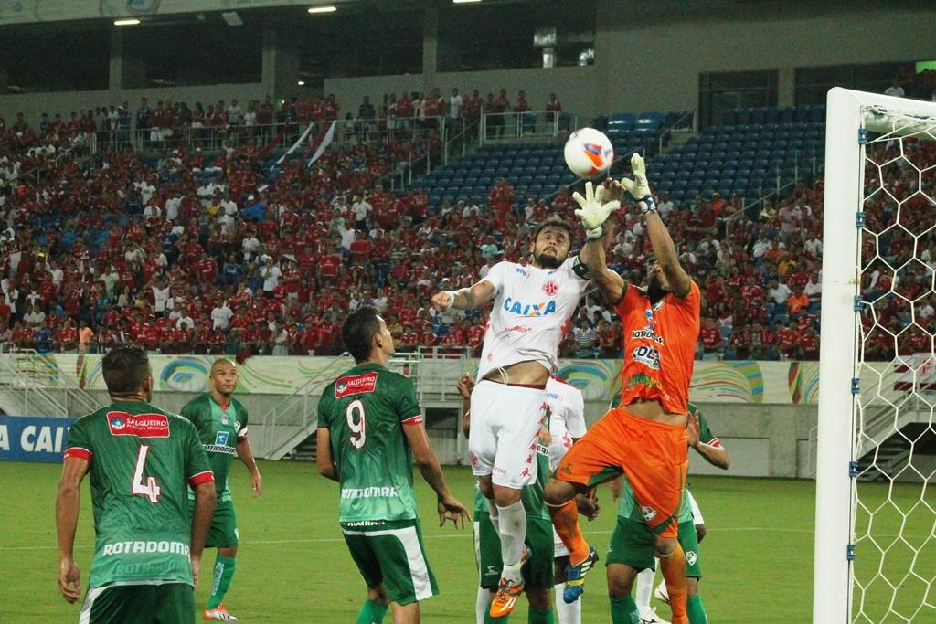 Em jogo de quatro gols, Mecão empata com o Salgueiro-PE na Arena das Dunas