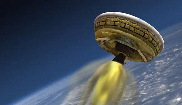 Desacelerador supersônico da NASA falha em teste