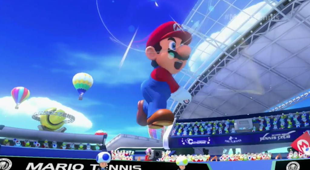 """Nintendo apresenta o novo game """"Mario Tennis: Ultra Smash"""" em evento"""