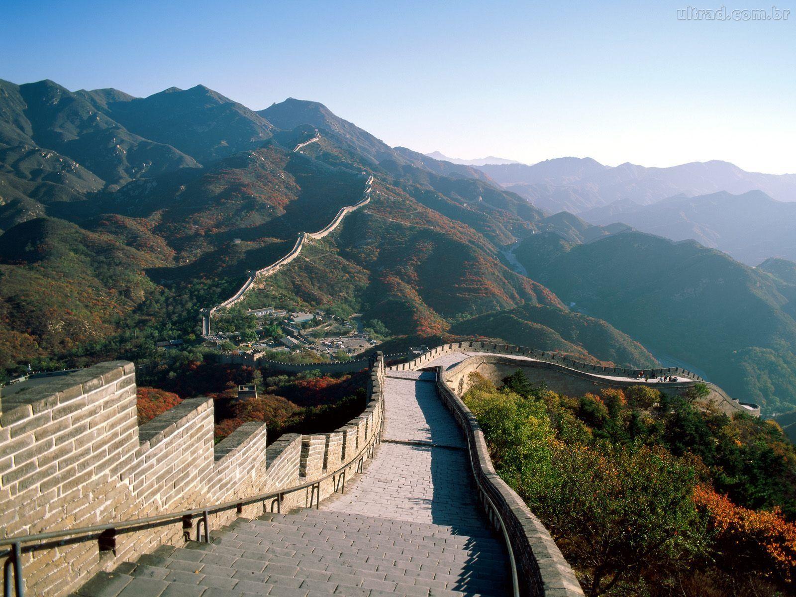 Muralha da China está se desintegrando devido à meteorologia e atividade humana