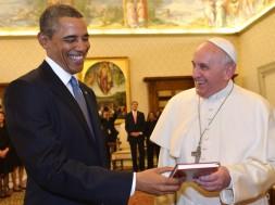 Obama e Francisco