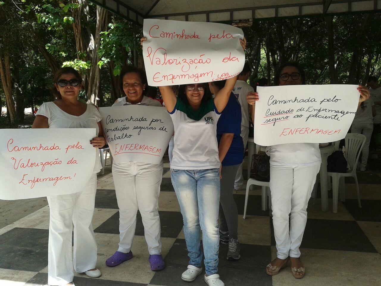 UPA Esperança realiza ações voltadas para valorização do profissional de Enfermagem