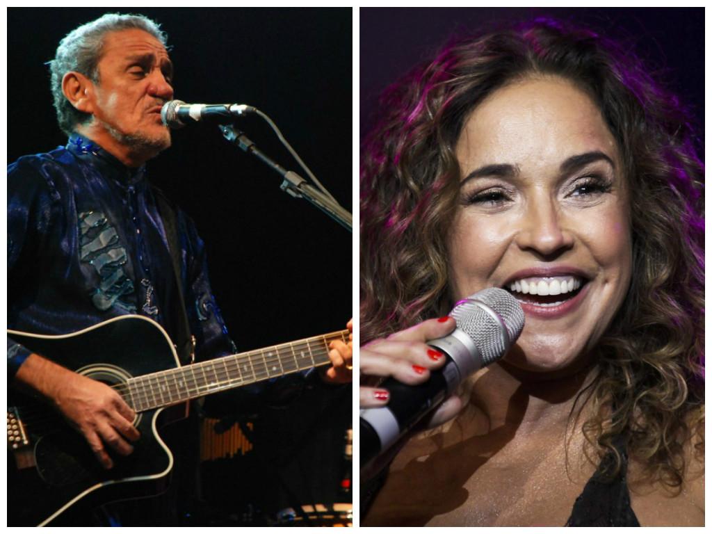Prefeito de Natal confirma Daniela Mercury e Zé Ramalho na festa de aniversário da cidade