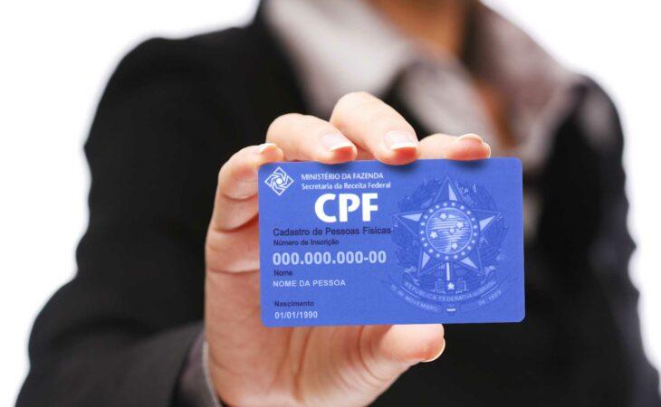 Receita Federal libera pesquisa on line sobre situação do CPF