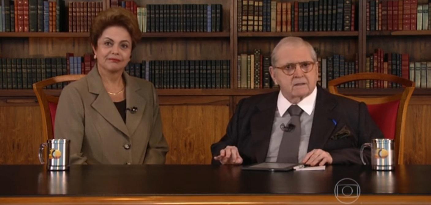 Dilma diz que Brasil não está 'doente' e se declara 'triste' com críticas