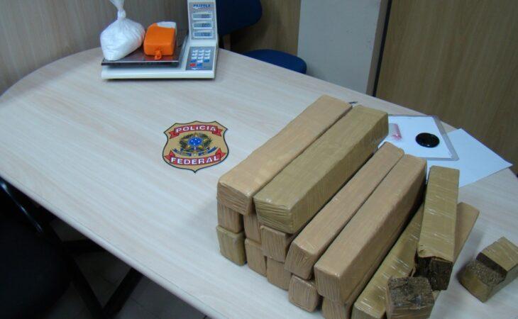 PF prende mulher com alta quantidade de maconha e cocaína em Goianinha-RN