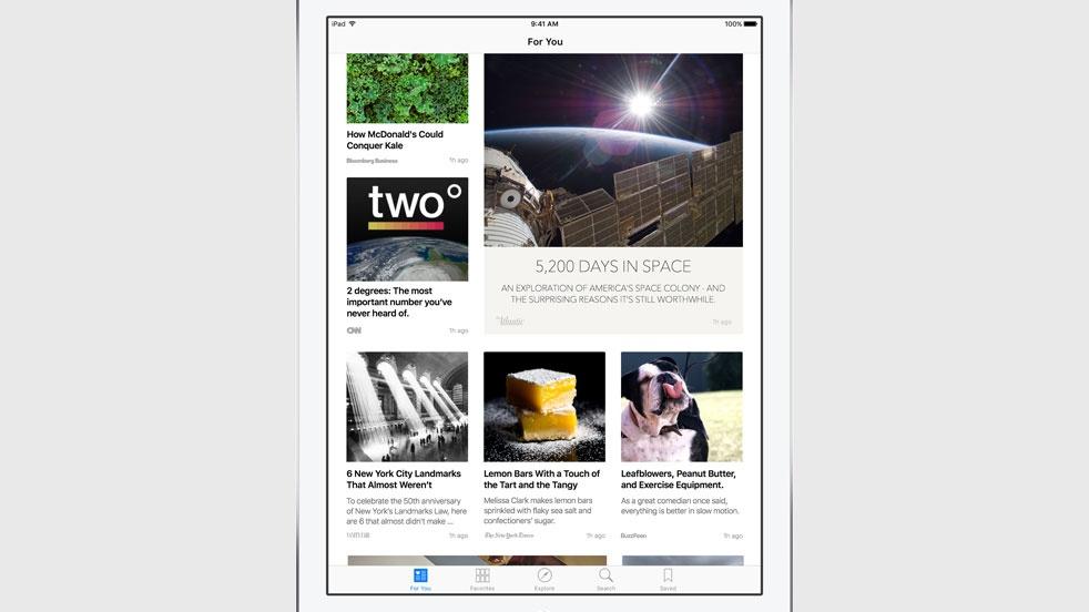"""News"": Apple mostra novidades para desafiar Flipboard e Spotify"