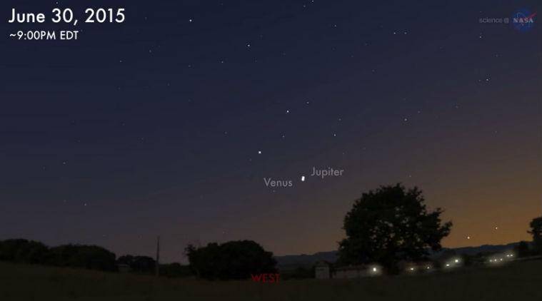 """Vênus e Júpiter irão se """"encontrar"""" no céu nesta terça-feira (30)"""