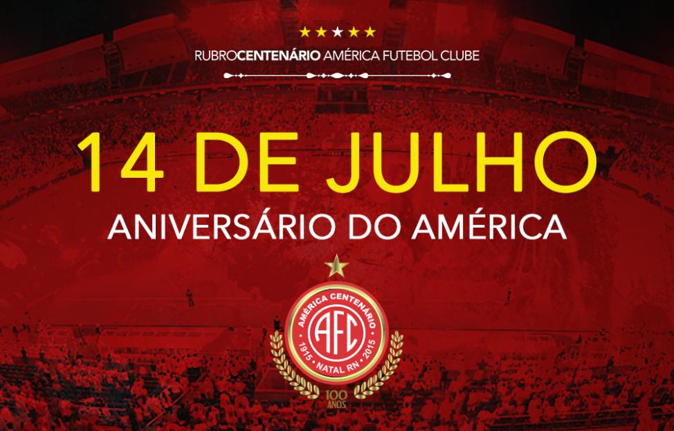 Parabéns, América: 100 anos de tradição no futebol brasileiro