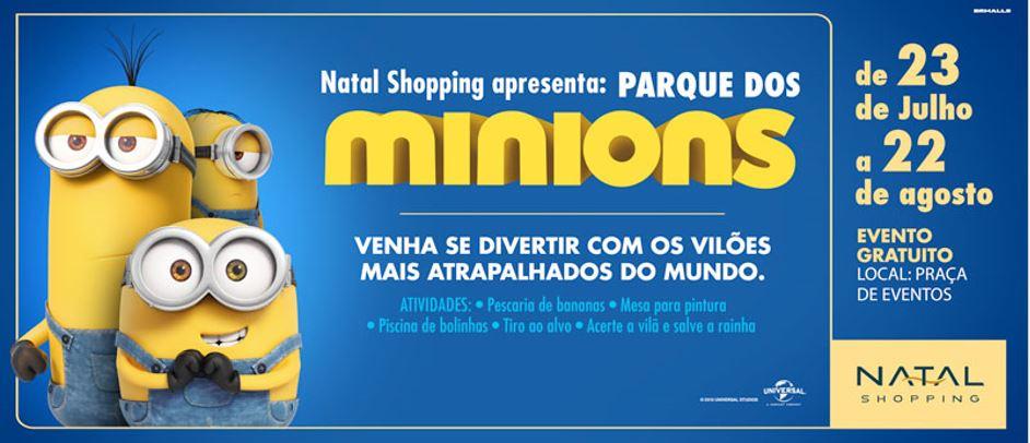 Parque dos Minions chega ao Natal Shopping