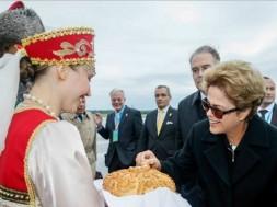 Dilma na Rússia