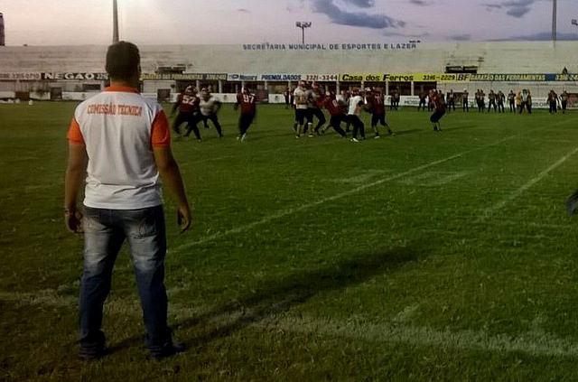 Futebol Americano movimenta o Nogueirão com calendário cheio