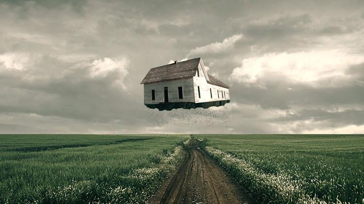 """""""Casa voadora"""" será o futuro da arquitetura graças à nova tecnologia"""