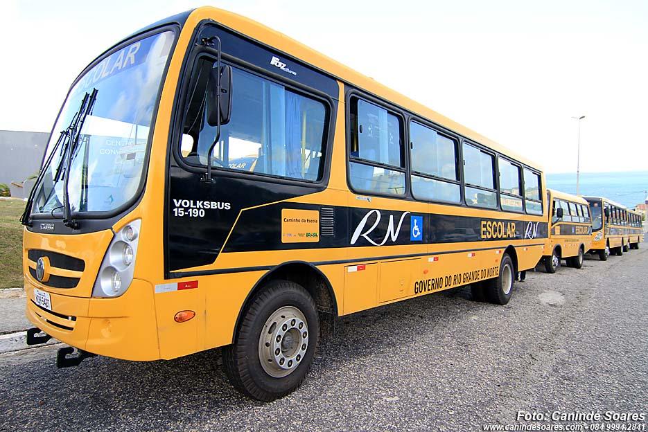 Tribunal de Contas identifica falhas no transporte escolar de 55 municípios potiguares