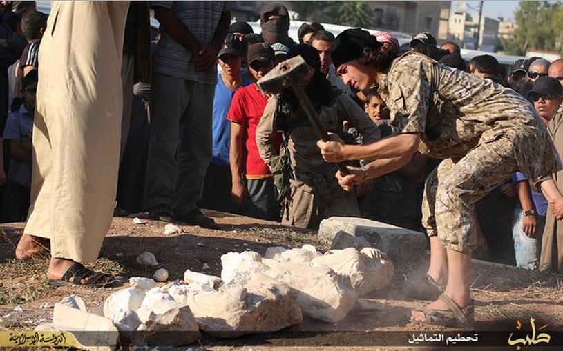 Relíquias destruídas pelo Estado Islâmico eram cópias, diz ONG