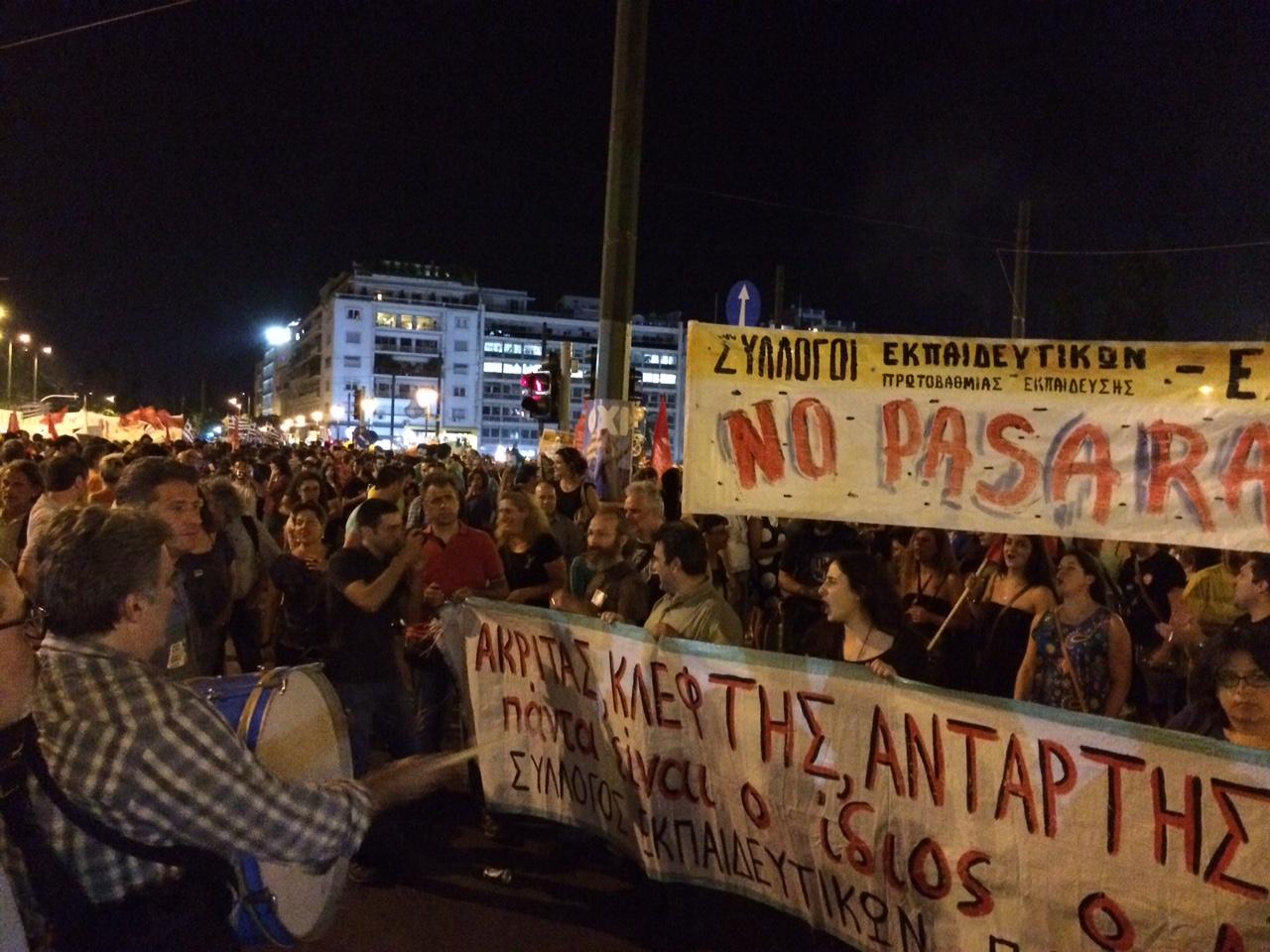 """Grécia opta pelo """"não"""" no referendo com uma vantagem de 20%"""